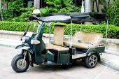 "THAILAND - motorized three-wheelers ""Samlaw"" (Tuk-Tuk) was renam — Stok fotoğraf"