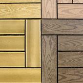 Pannelli di legno grunge maggio utilizzato come sfondo — Foto Stock