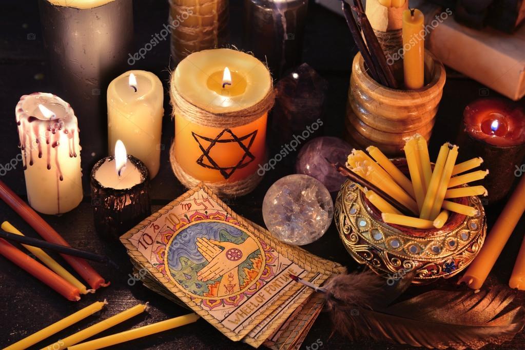 Свечи для гадания и обрядов