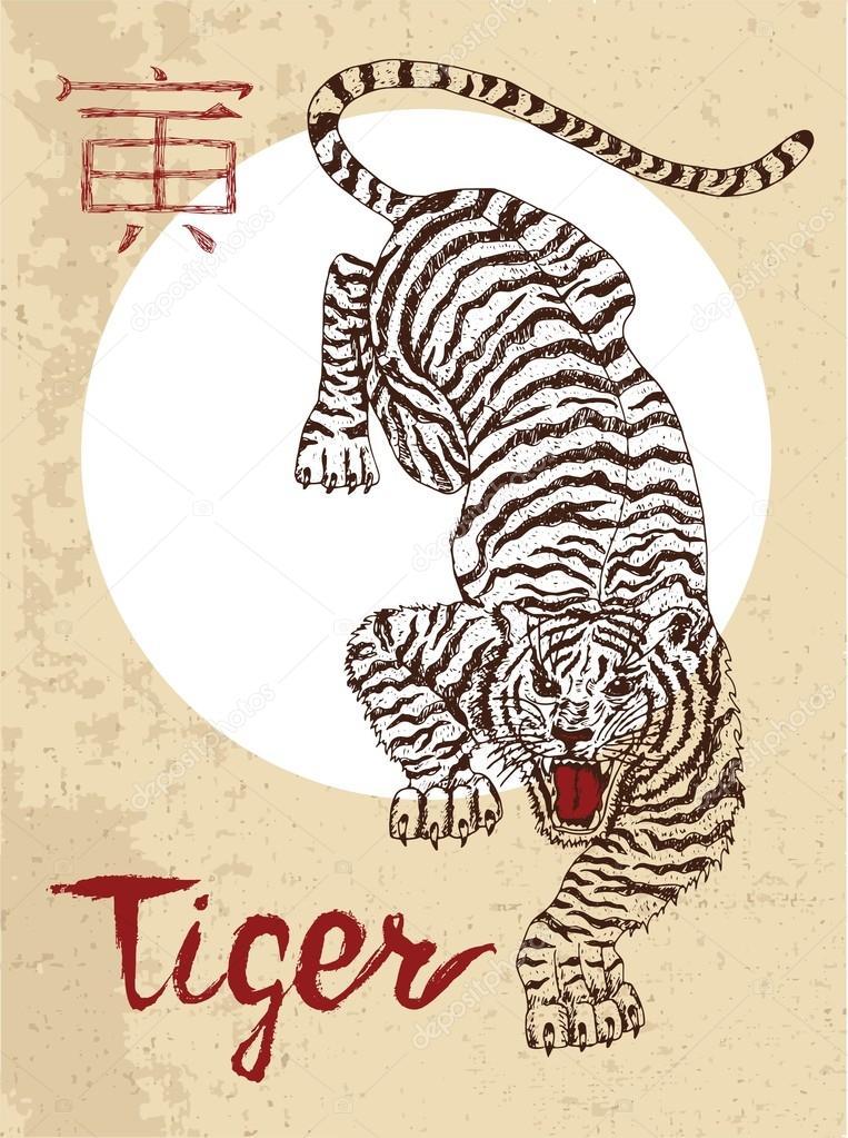 Tiger symbol chinese