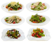 Various salads — Foto de Stock