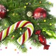 Christmas and New Year decorations — Stock Photo #57058709