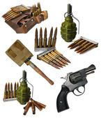 War set with Bullets — Stock Photo