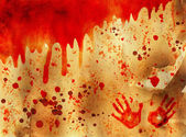 Bloody Halloween background — Stock Photo