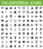 100 universal icons — Vetorial Stock