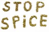 Stop Smoking blends spice — Stock Photo