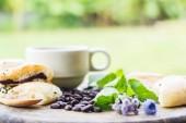 Desayuno café — Foto de Stock
