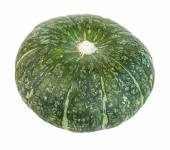 Green pumpkins isolate on white background — Stock Photo