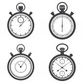 Stopwatches and chronometer — Stock vektor