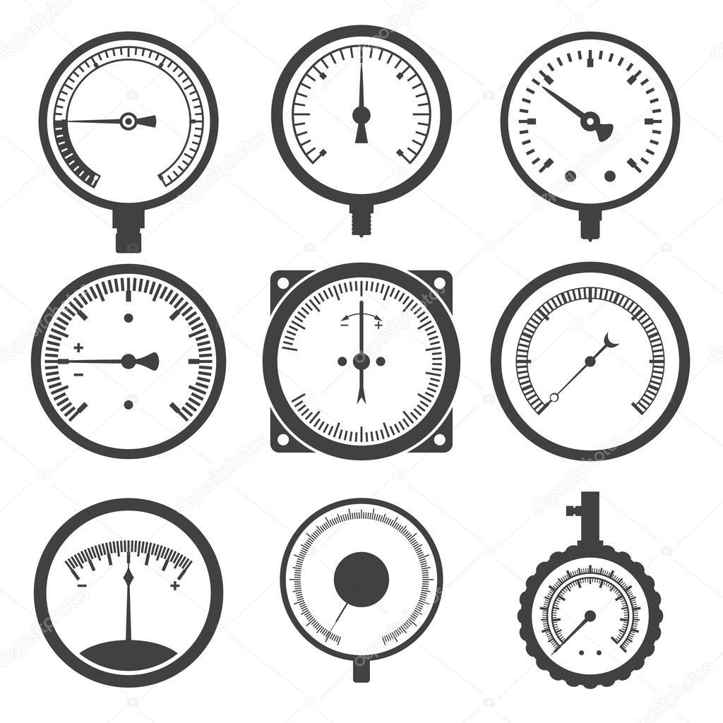 Vakuum symbole – Abblaseleitung sicherheitsventil