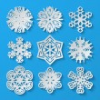 Paper snowflakes. Set 2 — Stock Vector #55277997