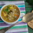 Soup pickle. Dish of Russian cuisine — Stock Photo #57480521