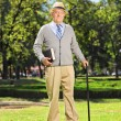Senior gentleman in park — Stock Photo #60332485