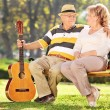Mature man with his wife — Stock Photo #62846007
