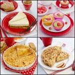 Collage dessert pastries — Stock Photo #56122895