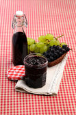 Chutney of red and white grapes — Fotografia Stock