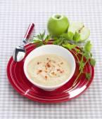 Apple puree soup celery — Foto de Stock