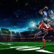 American football player — Stock Photo #54457993