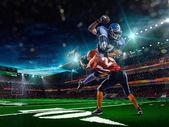 American football player — Stock Photo