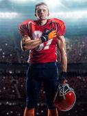 Jugador de fútbol americano — Foto de Stock