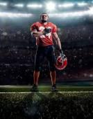 美国足球运动员 — 图库照片