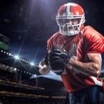 American football sportsman player — Stock Photo #56276507