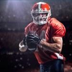 American football sportsman player — Stock Photo #56276517