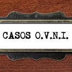 Casos o.v.n.i - file cabinet label — Stock Photo #60251631