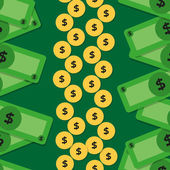 Vector money pattern — ストックベクタ