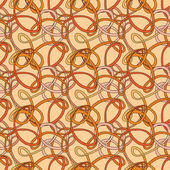 Seamless pattern of the loop — Stock Vector
