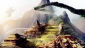Machu Picchu art. — Stock Photo