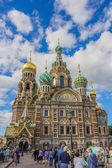 SAINT-PETERSBURG, RUSSIA - June 15, 2014: View of the cathedral  — Foto Stock