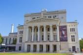 RIGA, LATVIA - JUNE 26, 2014. Latvian national opera and ballet  — Stock Photo