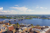 The top view of Riga — Stock Photo