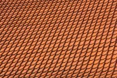 Tile roof as a background — Stock Photo