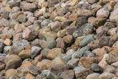 Pebble stone background — Stock Photo