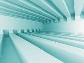 Futurystyczna architektura streszczenie tło projektu — Zdjęcie stockowe
