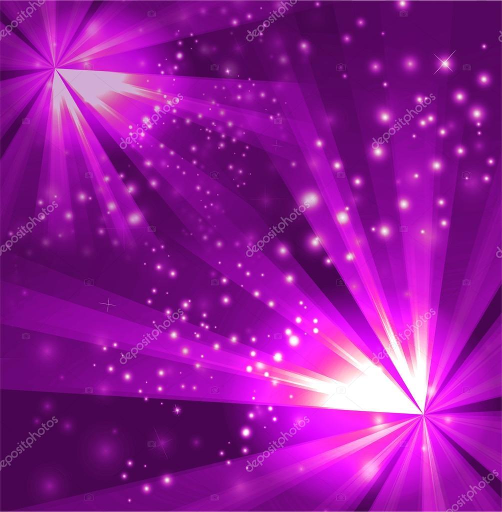 两个爆裂浅紫色背景