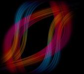 Abstract background red blue curve — Foto Stock