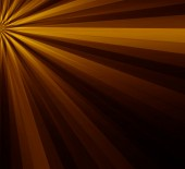 Brown yellow lighting ray abstract background — Zdjęcie stockowe