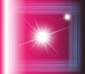 Abstract vector pink background with square — Vector de stock