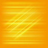 Digitally generated image of yellow light and stripes — Stock Vector