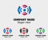 Luxury creative concept technology sign symbol design template for Business — Vector de stock