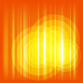 Orange Background Vector with circle — Stock Vector