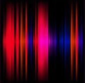 Abstraktní světelného efektu hudební pozadí — Stock fotografie