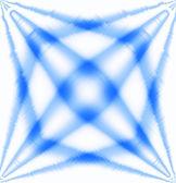 Sfondo astratto chiaro effetto stella blu e bianco — Foto Stock