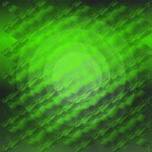 Green circle gradient plaid texture — Stock Photo