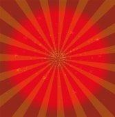Rot textur Sterne Hintergrund Vektor — Stockvektor