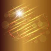 Vector Brown Background Abstract Design — Stock Vector