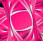 Fond abstrait vague rose — Photo